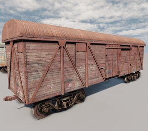 car rail 3d max