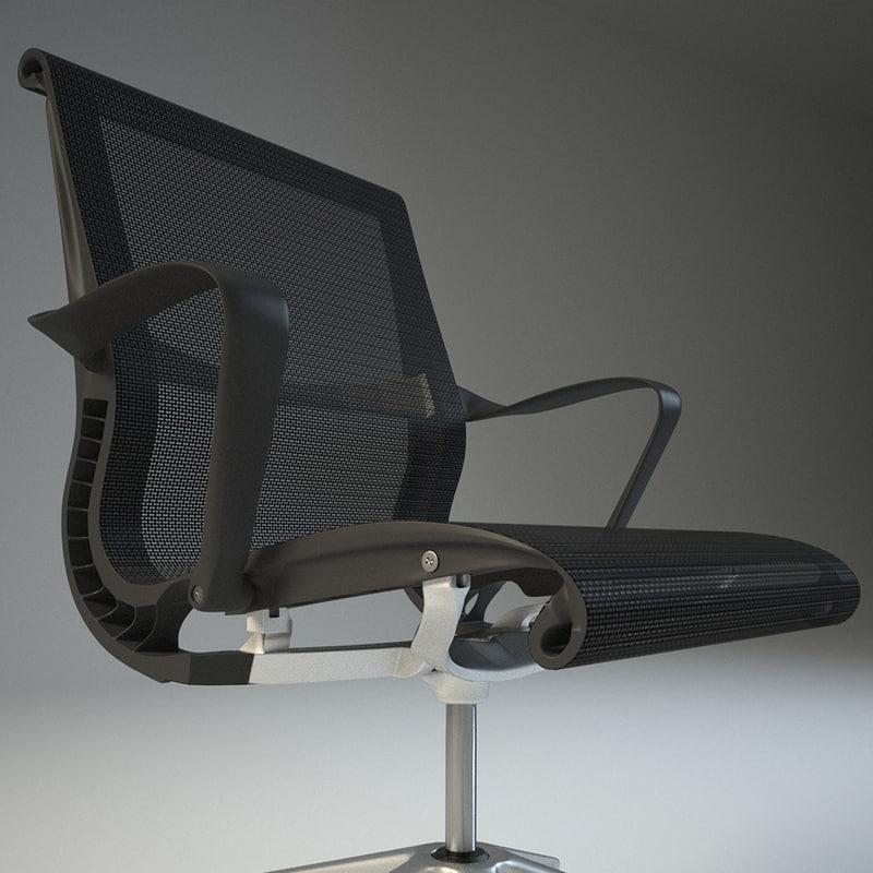 3dsmax herman miller setu chair