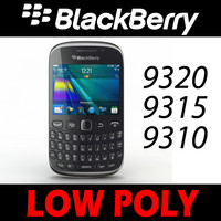 Black Berry 9320 9315 9310 Low Poly