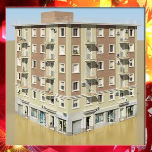 3d model photorealistic building 4