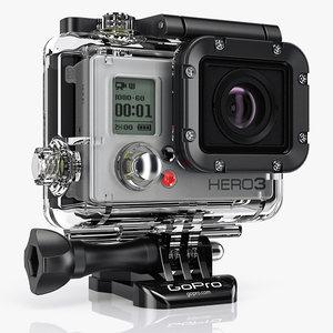 3d model camera black edition video