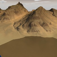3 mountain terrain