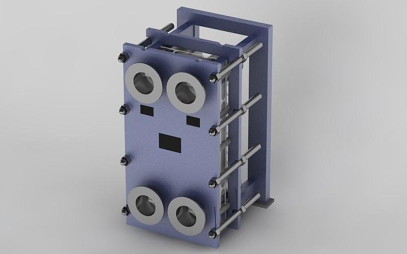 industrial 3d max