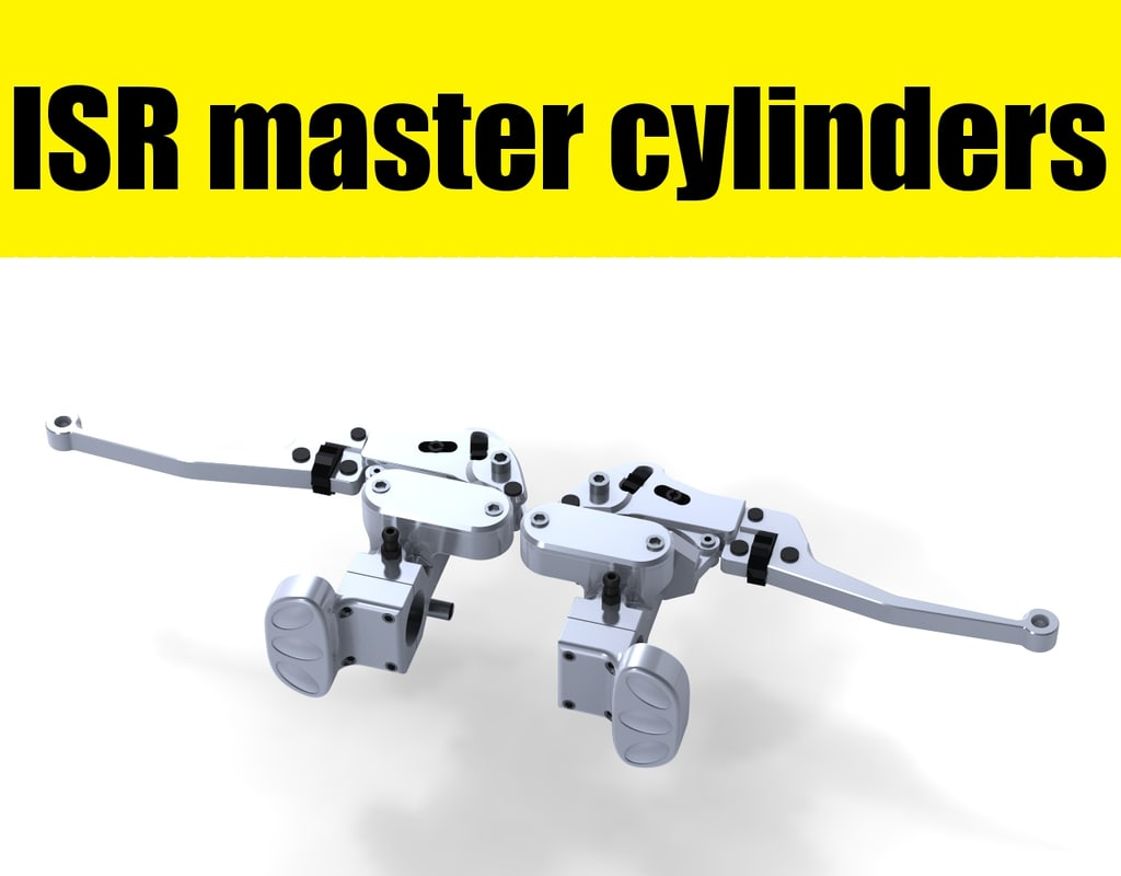 3d isr brake clutch master model