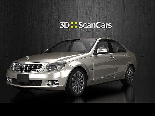 3d model mercedes benz c280 elegance