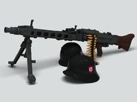 Mg42 Machine Gun Nazi