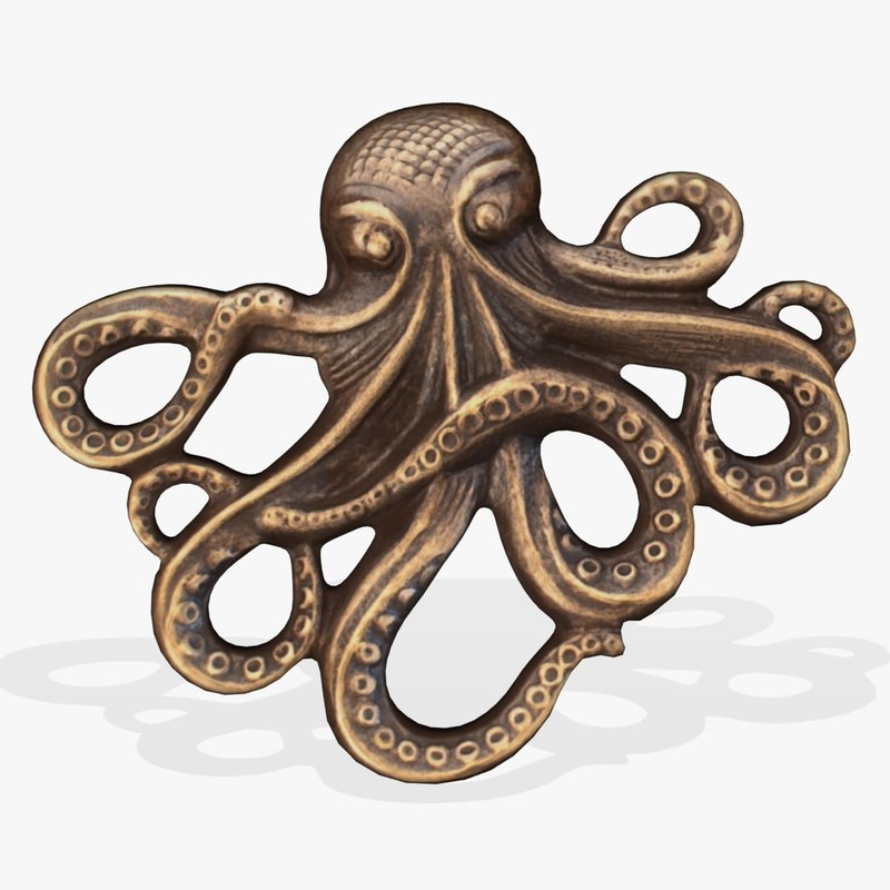 wall octopus fg 3d 3ds
