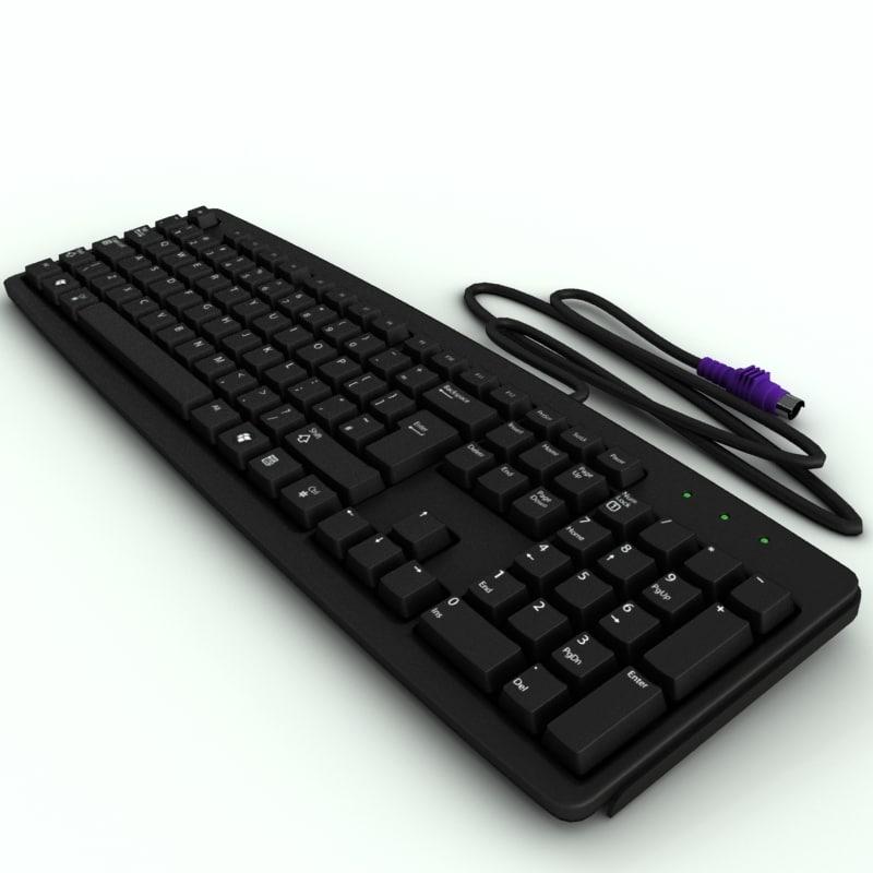 generic pc keyboard max