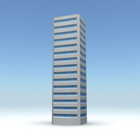 3d skyscraper 12 day night