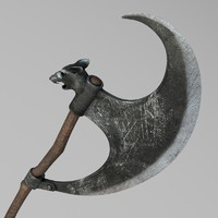 Rat Head Halberd
