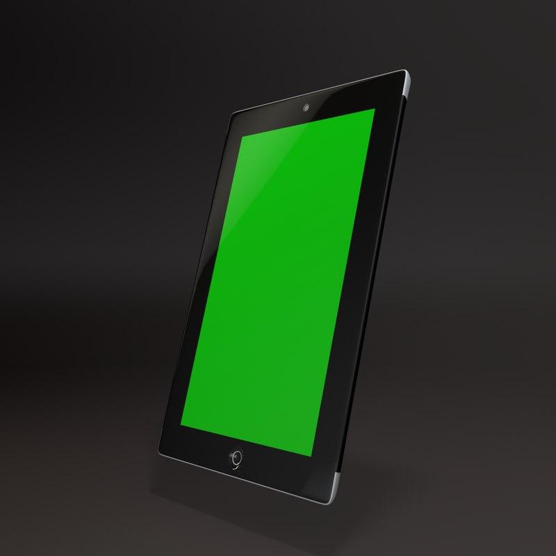 3d model tablet