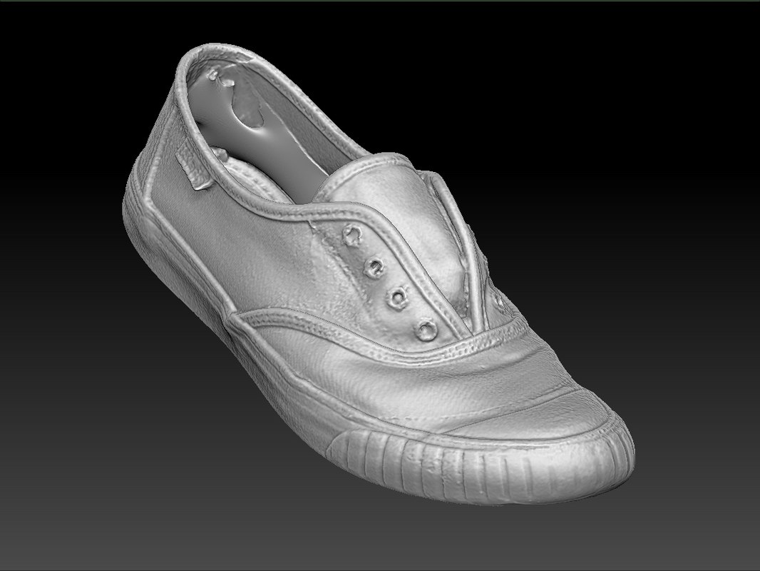 scan woman shoe 3d model