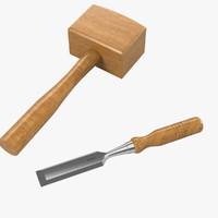 carpenter set 3ds