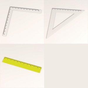 3d rulers