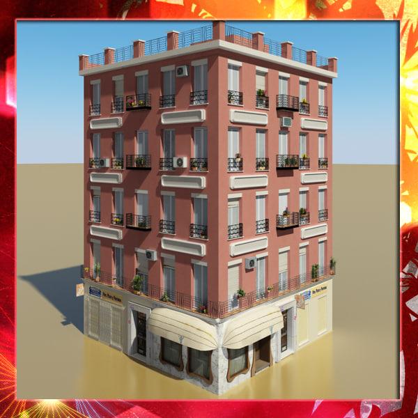 3d model photorealistic building 12