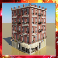 Photorealistic Low Poly Building 12