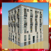 photorealistic building 14 obj