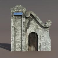 castle ruin led