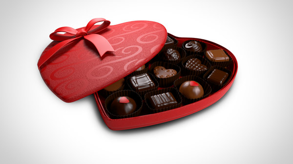 max chocolate heart