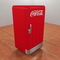 Coca-Cola Refrigerator