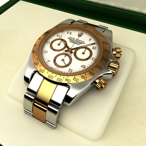 gold plated rolex daytona lwo