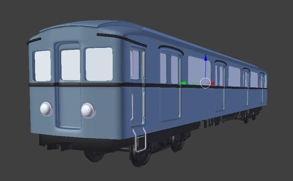 obj russian metro train