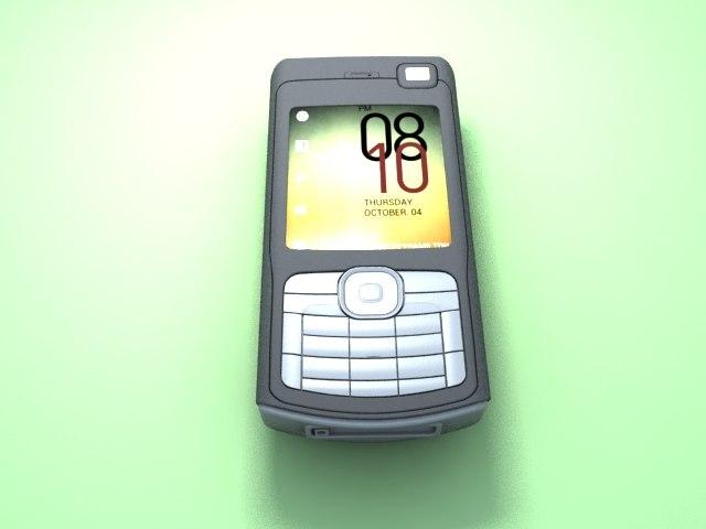 3d nokia cell phone