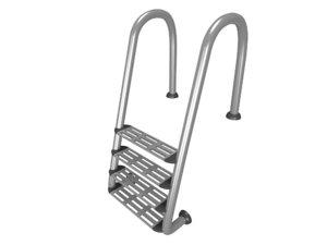 pool ladder 3d max