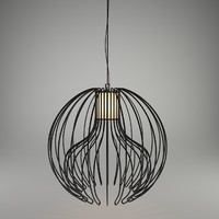 3d icaro ceiling lamp modo model