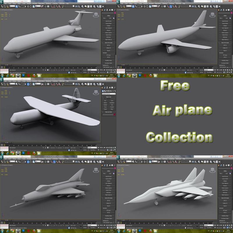 free max model airplane