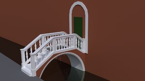 3dsmax venetian bridge