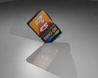 3ds max sd card