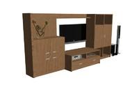tv rack 3d model
