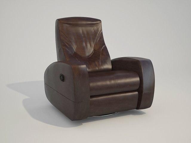 3d model armchair russo-balt