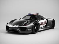 Porsche 918 Spyder Police