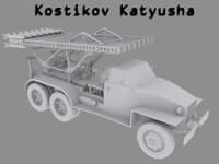 kostikov katyusha 3d model