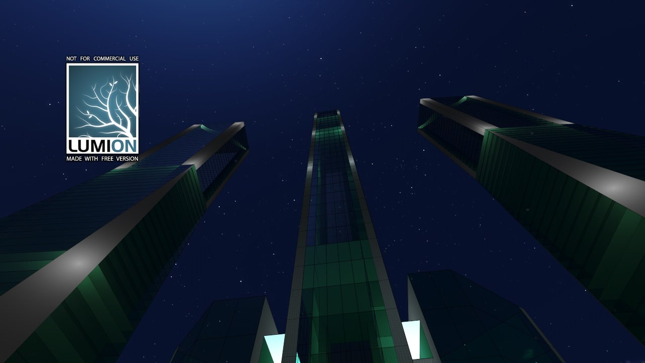 tower architecture 3d 3ds