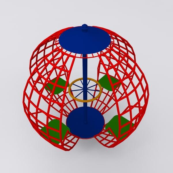 3d ground sphere play 2011 model