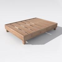 bed 2011 3d model