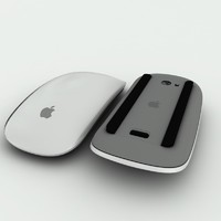 3d model apple wireless mouse