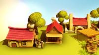 Cartoon Farm - Four Seasons