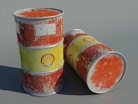 Barrel Rusted VI