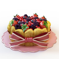 3d cake 027 model