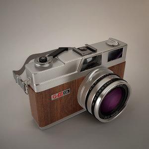 classic camera 3d max