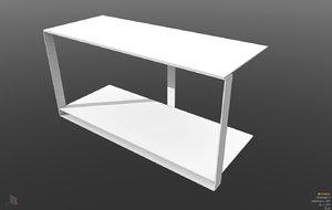 3d model console williams