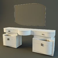 max modern dressing table rubino