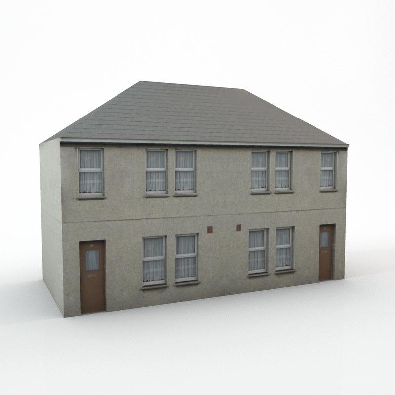 street house model