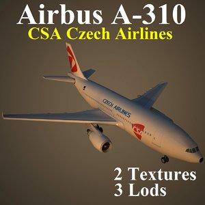 airbus csa 3d model