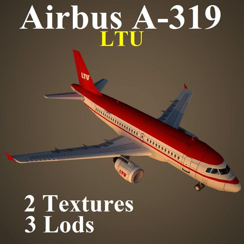 3d airbus ltu model