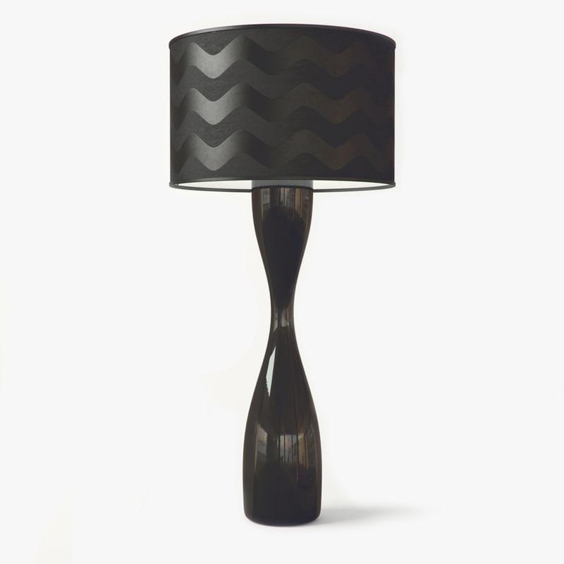 3d model juju floor lamp